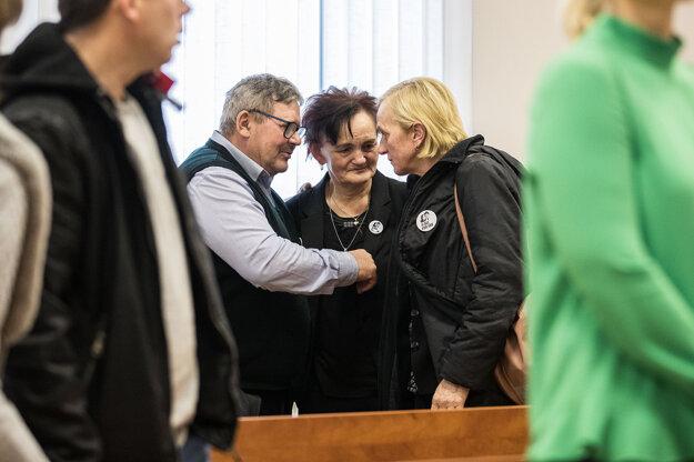 Rodičia Jána Kuciaka a Zlatica Kušnírová.
