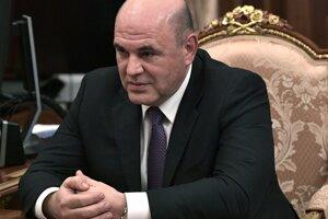 Šéf Federálnej daňovej služby Ruska Michail Mišustin.