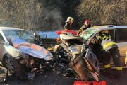 Nehoda pri Liptovskej Osade.