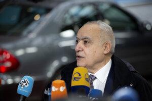 Osobitný vyslanec OSN pre Líbyu Ghassan Salamé.