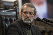 Predseda iránskeho parlamentu Alí Larídžání.