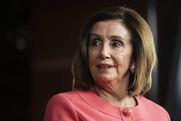 Nancy Pelosiová.