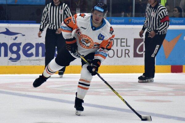 Ruský obranca Dmitri Vorobjov stále čaká na prvý gól v michalovskom drese.