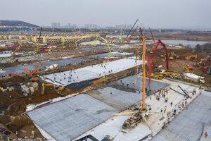 Rozloha nemocnice by mala byť 25.000 štvorcových metrov a s kapacitou tisíc lôžok.