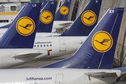 Lietadlá spoločnosti Lufthansa.