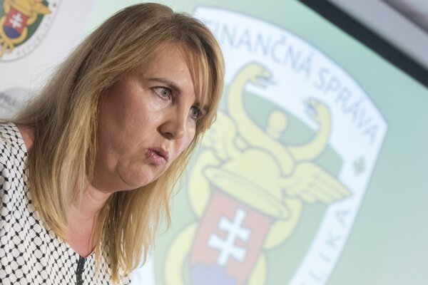 Prezidentka Finančnej správy SR Lenka Wittenbergerová.