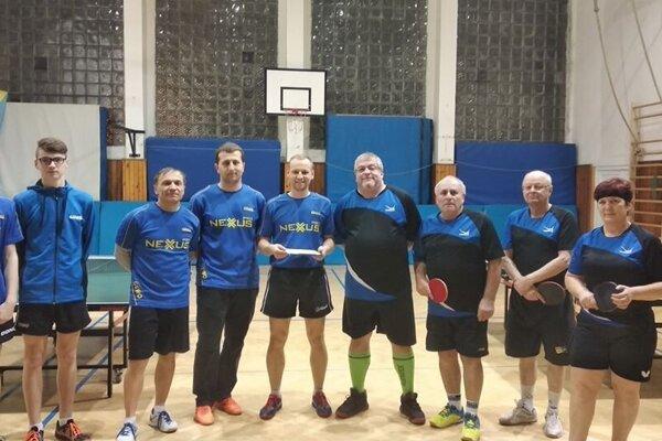 Stolní tenisti z Kysuckého Nového Mesta.