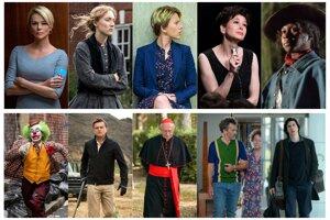 Nominovaní v kategóriách Najlepší ženský a mužský herecký výkon v hlavnej úlohe.
