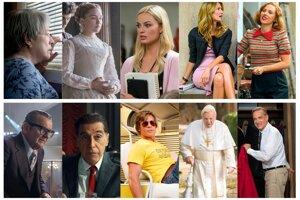 Nominovaní v kategóriách Najlepší ženský a mužský herecký výkon vo vedľajšej úlohe.