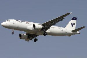 Ilustračné foto – Airbus A320-211 spoločnosti Iran Air.