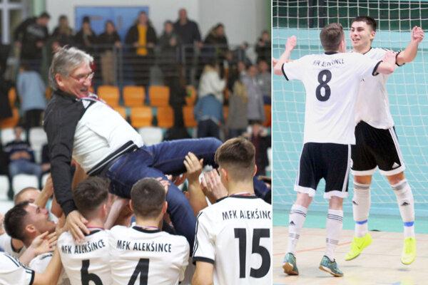Alekšinčania vo finále porazili Nevidzany 4:3 a obhájili triumf.