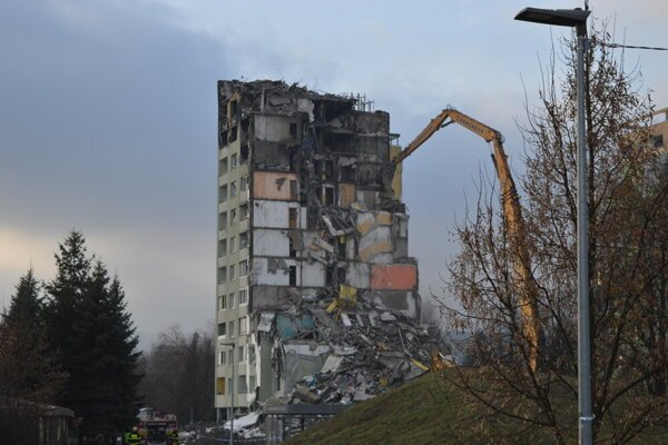 Bytovka bola búraná v druhej polovici decembra 2019.