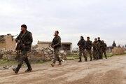 Príslušníci sýrskych vládnych síl.
