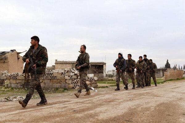 Príslušníci sýrskych vládnych síl (ilustračné foto).