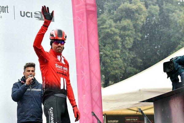 Holandský cyklista Tom Dumoulin.