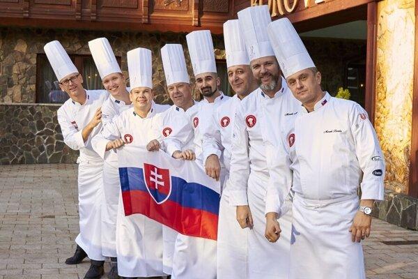 Slovenský kuchársky tím pre Culinary Olympics.