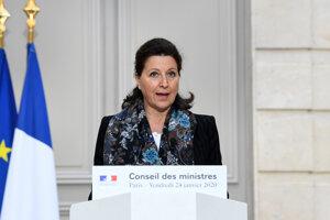 Francúzska ministerka zdravotníctva Agnes Buzynová.
