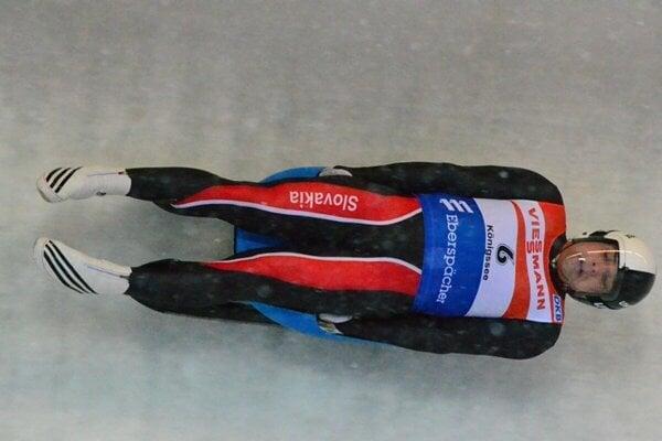 Jozef Ninis v pretekoch v slovenskom drese.