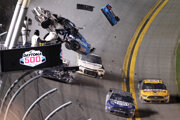 Havária Ryana Newmana v poslednom kole pretekov NASCAR Daytona 500.