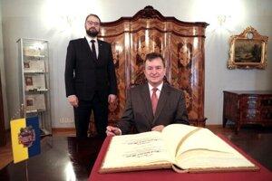 V pondelok sa stretol viceprimátor mesta s veľvyslancom Chorvátskej republiky na Slovensku Aleksandarom Heinom.