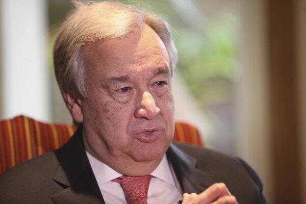 Generálny tajomník Organizácie Spojených národov (OSN) António Guterres.