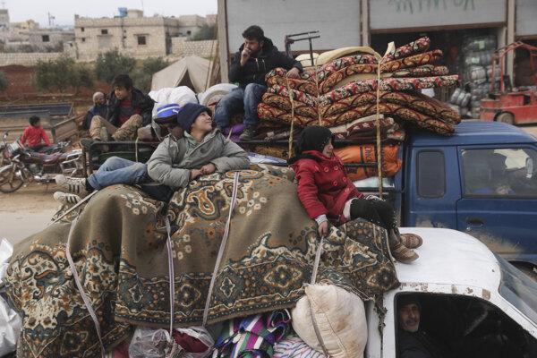 Vládna ofenzíva vyhnala od decembra z domovov 900-tisíc civilistov.