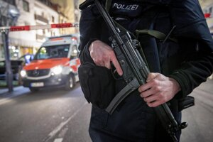 Policajt v Hanau