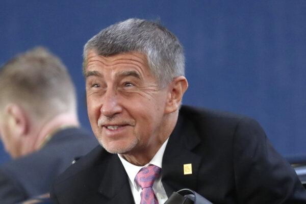 Český remiér Andrej Babiš.