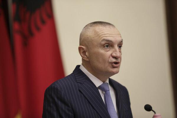 Albánsky prezident Ilir Meta.