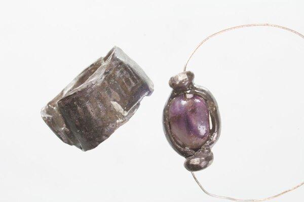 Staroegyptské šperky.