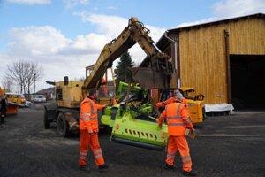 Vďaka novej technike bude vytvorená asfaltérska čata.