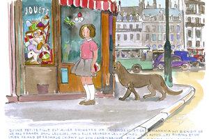 Príbehy pre Elise dopĺňal umelec vlastnými ilustráciami.