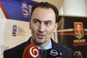 Prezident Slovenského zväzu ľadového hokeja Miroslav Šatan.