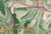 Nová trasa okolo Plavnice.