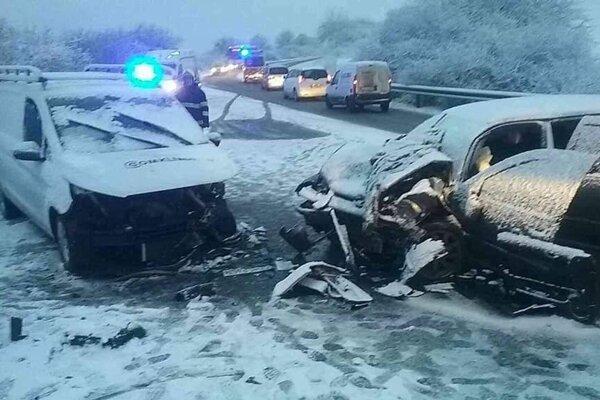 Nehoda pri Ďurďošíku.