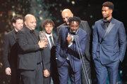 Režisér Ladj Ly hovorí po tom, čo získal sošku Césara za najlepší film Bedári (Les Misérables) na 45. slávnostnom udeľovaní cien Francúzskej filmovej akadémie v Paríži 29. februára 2020.