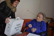 Helena Baligová má vyše sto rokov. Voliť chcela.