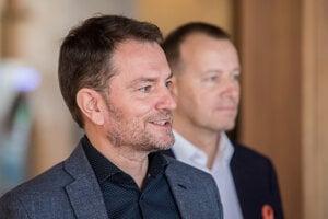 Voľby 2020: Igor Matovič a Boris Kollár