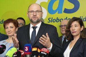 Voľby 2020: Líder SaS Richard Sulík.