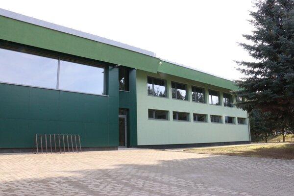 Zrekonštruovaná hala Prešovskej univerzity.