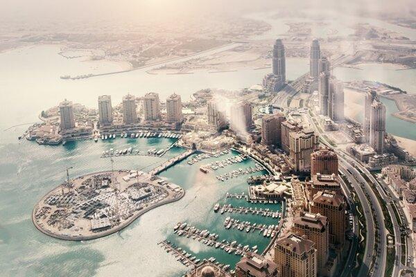 Perlový ostrov v Doha