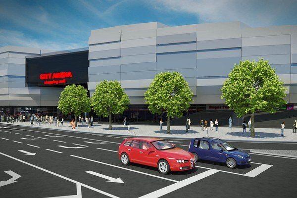 Takto by mala nová City Arena vyzerať.