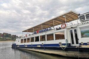 Loď Bohemia čaká na ďalšiu sezónu.