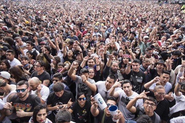 Dvojdňový festival Vive Latino.