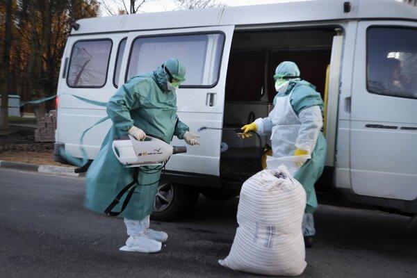 V Bielorusku sa nakazilo vírusom zatiaľ 27 ľudí.