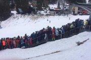Obrázok z lyžovačky v Jasnej pred pár dňami.
