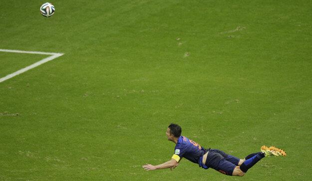 Pamätný gól Robina van Persieho.