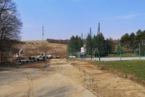 Stavba prístupovej cesty k tunelu Bikoš, ktorý je súčasťou R4.
