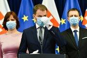 Premiér Igor Matovič oznámil pribúdajúci počet nakazených.