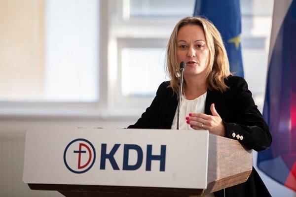 Štátna tajomníčka Soňa Gaborčáková.